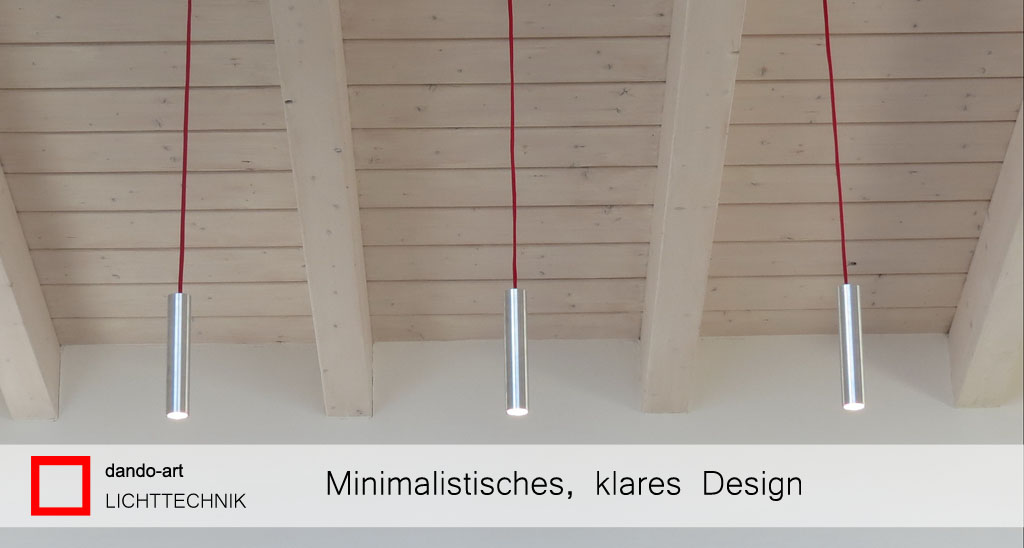 Minimalistisches, klares Design